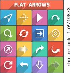 flat arrows for web and mobile. ...