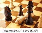 Check Mate As A Vanquished Kin...