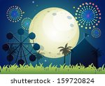 illustration of a carnival... | Shutterstock .eps vector #159720824