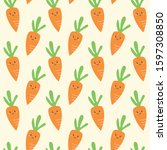 seamless vector pattern with... | Shutterstock .eps vector #1597308850