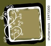 frame with coil and grunge | Shutterstock .eps vector #15973300