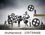conceptual image of...   Shutterstock . vector #159734468