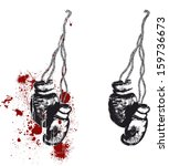 boxing gloves | Shutterstock .eps vector #159736673