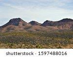 Castle Mountain Mojave Desert Nv