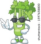 cool and cool celery plant...   Shutterstock .eps vector #1597658800