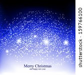 merry christmas and happy new... | Shutterstock .eps vector #159766100