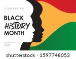 african americans history or...   Shutterstock .eps vector #1597748053