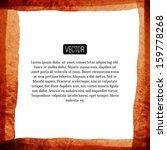 abstract vector watercolor... | Shutterstock .eps vector #159778268