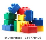 Building Blocks Isolated On...