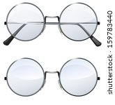 glasses with transparent white... | Shutterstock . vector #159783440