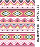 seamless ethnic vector pattern... | Shutterstock .eps vector #159787868