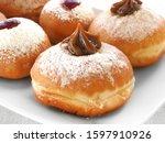 Delicious Hanukkah Donuts With...