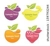 vector collection of fresh... | Shutterstock .eps vector #159793244