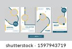 sale mobile template collection ... | Shutterstock .eps vector #1597943719