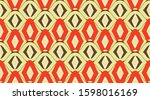 arabic pattern background. ... | Shutterstock .eps vector #1598016169