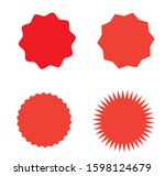 set of color icons price...   Shutterstock .eps vector #1598124679