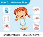 scientific medical illustration ... | Shutterstock .eps vector #1598275396
