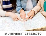 holidays and tourism concept  ... | Shutterstock . vector #159836750