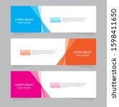 vector abstract design web... | Shutterstock .eps vector #1598411650