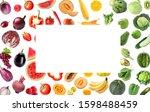 assortment of fresh vegetables... | Shutterstock . vector #1598488459