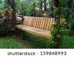 bench in park | Shutterstock . vector #159848993