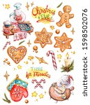 Large Size Watercolor Christma...