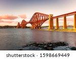 View Of Forth Railway Bridge At ...