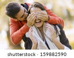 Stock photo young couple in love 159882590