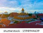 wat ratchanatdaram in bangkok...   Shutterstock . vector #1598944639