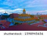 wat ratchanatdaram temple in...   Shutterstock . vector #1598945656