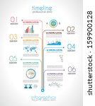 timeline to display your data... | Shutterstock .eps vector #159900128