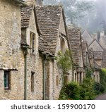 Old Buildings Row In English...