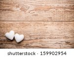 White Heart And Wooden ...