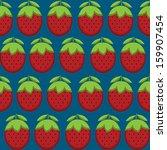 retro style seamless pattern... | Shutterstock .eps vector #159907454