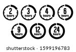 timer  clock vector icon... | Shutterstock .eps vector #1599196783