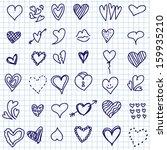 vector illustration of... | Shutterstock .eps vector #159935210