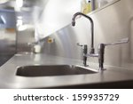 picture of chrome sink and tap... | Shutterstock . vector #159935729