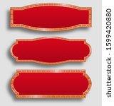 set of horizontal banners...   Shutterstock .eps vector #1599420880