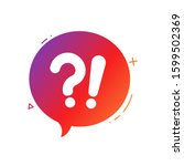 question mark  question answer  ...   Shutterstock .eps vector #1599502369
