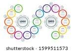 presentation or infographics...   Shutterstock .eps vector #1599511573
