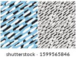 cute abstract spots seamless... | Shutterstock .eps vector #1599565846