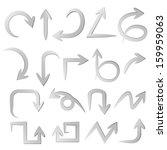 arrows | Shutterstock .eps vector #159959063