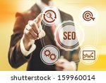 search engine optimization... | Shutterstock . vector #159960014