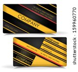 business card design | Shutterstock .eps vector #159960770