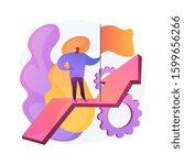 new achievement. business...   Shutterstock .eps vector #1599656266