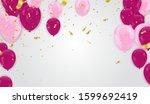 happy new year 2020 design... | Shutterstock .eps vector #1599692419