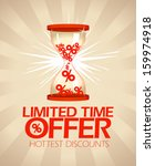 limited time offer  hottest... | Shutterstock .eps vector #159974918