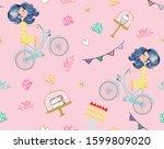 hand drawn seamless pattern...   Shutterstock .eps vector #1599809020