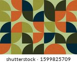 pattern with random colored...   Shutterstock .eps vector #1599825709