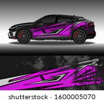 car wrap decal livery design... | Shutterstock .eps vector #1600005070